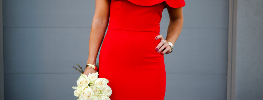 Red dress, OTS, Holiday, Sales