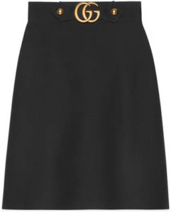 gucci-knee-length-skirt