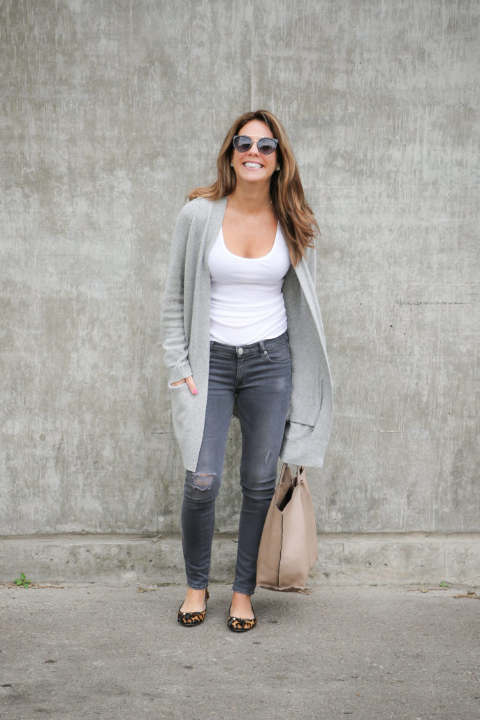 How to Look Chic in a Cardigan for Fall